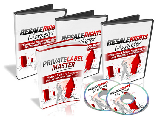 Product picture Sell Info Products Online - Resale Rights Marketer (MRR)